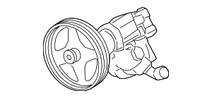Power Steering Pump - Ford (7C3Z-3A674-DRM)