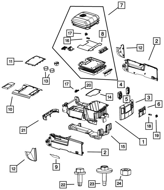 console base mat