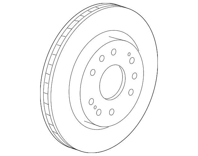 Genuine Gm Rotor 23144340