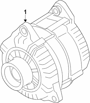 Alternator Assembly (AHGA88) (Mitsubishi)