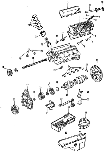 replacement gm engines