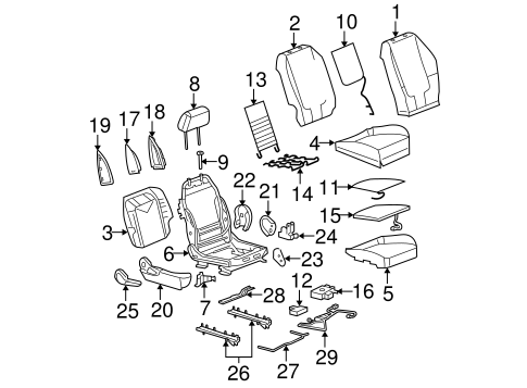 2005 Chevy Malibu Parts Diagram