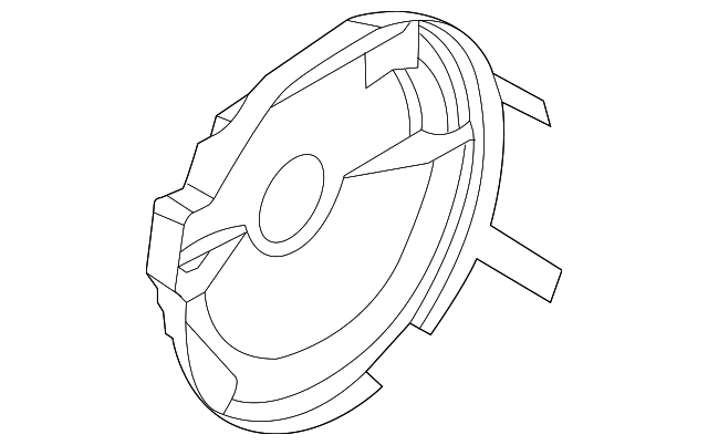 2012 2018 Ford Focus Front Shield Cm5z 7a434 E