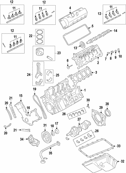 Engine/Mounts for 2014 Ford F-150 #1