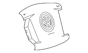 Driver Air Bag - Volkswagen (3D0-880-203-B-6G8)