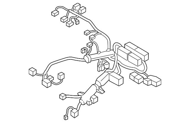 2018 2019 Kia Niro Wire Harness 91400 G5021