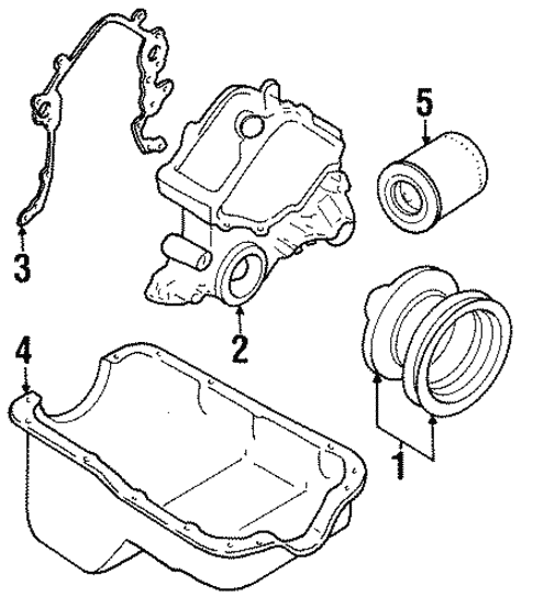 Engine Parts For 1997 Ford Mustang