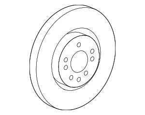 Disc Brake Rotor - Mercedes-Benz (164-421-14-12)
