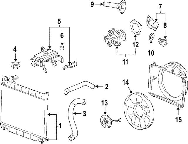 lower hose saab 15160997 saab parts counter 2008 Saab 9-7X Interior lower hose saab 15160997