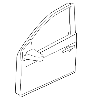 Door Shell - Nissan (H0101-ZT5MA)