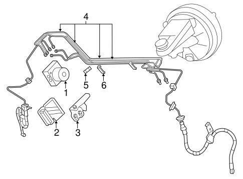 Abs Components For 2008 Chrysler Sebring