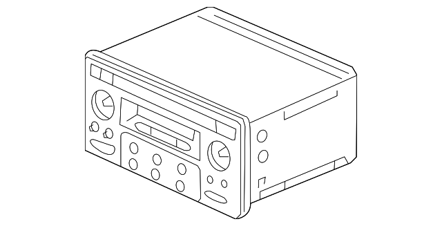 tuner assembly  auto radio  20wx4   matsushita