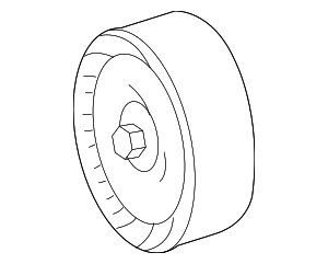 Pulley - Mercedes-Benz (000-202-17-19)