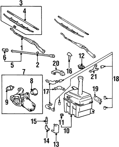 WIPER MOTOR Assembly SEAL