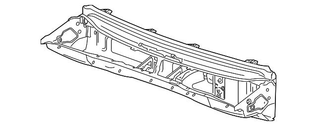 upper dash panel