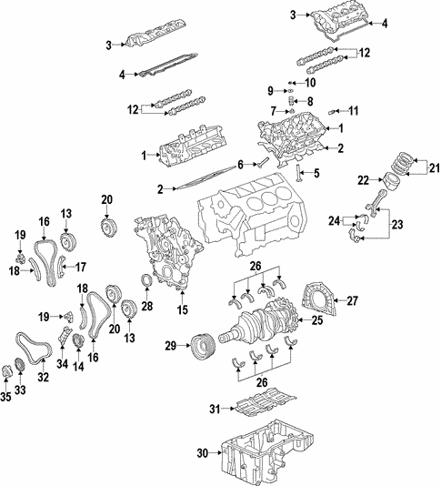 Engine for 2011 Kia Sorento #1