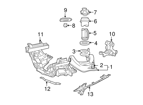 Suspension Components For 2003 Ford Mustang Blue Springs Ford Parts