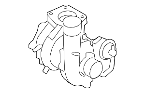 Turbocharger - Mazda (L3YC-13-70ZA)