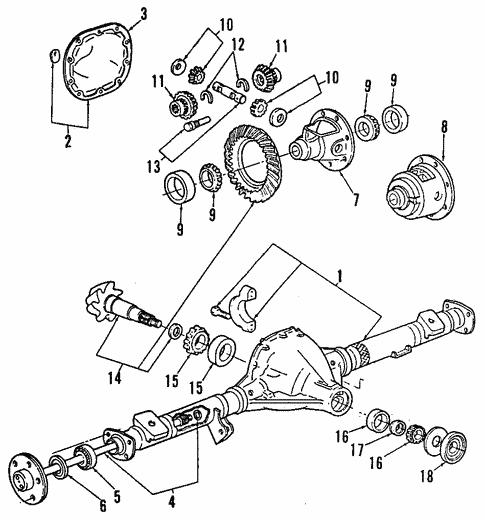 Propeller Shaft For 1991 Ford Explorer