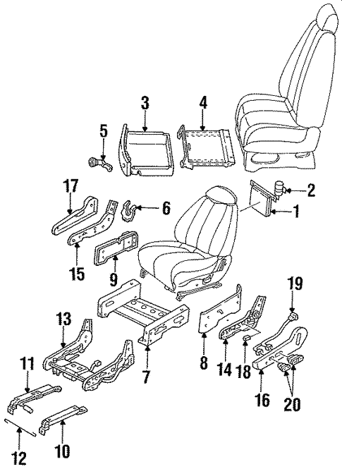 Admirable Lumbar Control Seats For 1996 Mercury Villager Byers Ford Parts Wiring 101 Hemtstreekradiomeanderfmnl