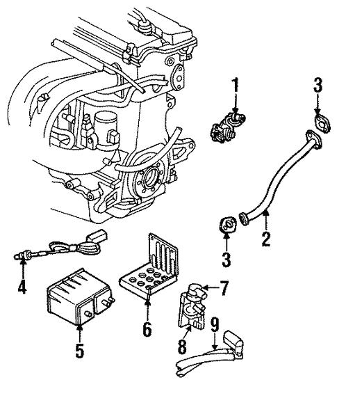 2000 Chrysler Cirrus Transmission: EGR System For 2000 Chrysler Cirrus