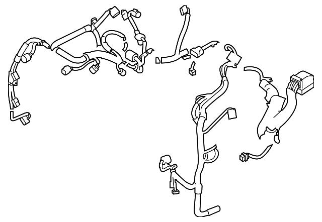 engine harness - subaru (24020ag640)