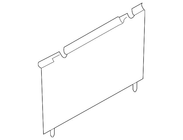 2007 2015 mazda cx 9 fuse box cover td11 55 551j mazdaswag. Black Bedroom Furniture Sets. Home Design Ideas