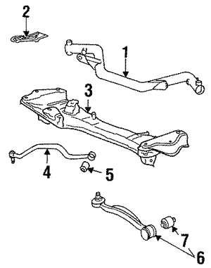 shop genuine bmw front suspension ponents getbmwparts  control arm control arm