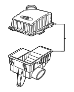 Air Cleaner Assembly - Land-Rover (ESR3849)
