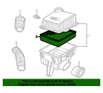 Air Filter - Land-Rover (ESR341)
