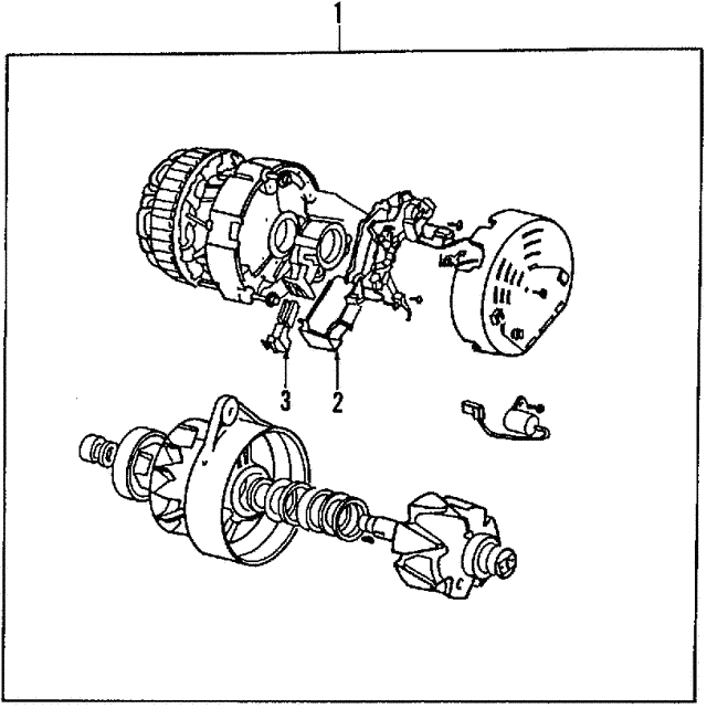 Alternator - Land-Rover (STC1753)