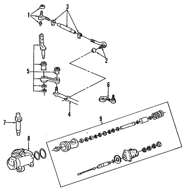 pitman arm - ford (9w1z-3v590-a)