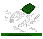 Seat Cover - Volkswagen (5C6-881-405-CN-WLY)
