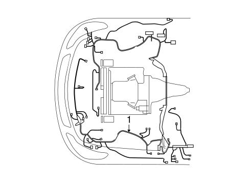 Wiring Harness For 2015 Infiniti Q60