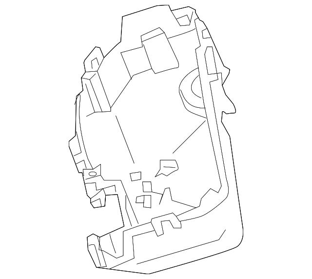 2014 Scion Iq Transmission: Cover (Lower) - Acura (38257-TK4-A01)