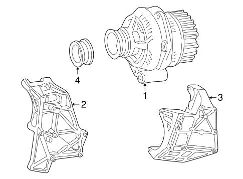 Dz 302 Alternator Bracket