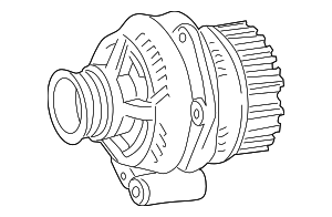 Remanufactured-Alternator - Mercedes-Benz (010-154-40-02-80)