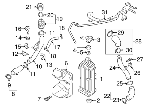 Intercooler For 2016 Kia Optima
