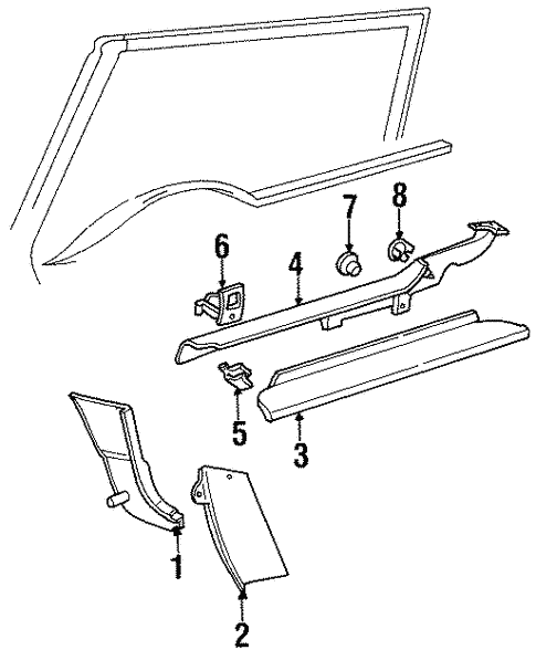 1996 Audi Cabriolet Relay Diagram