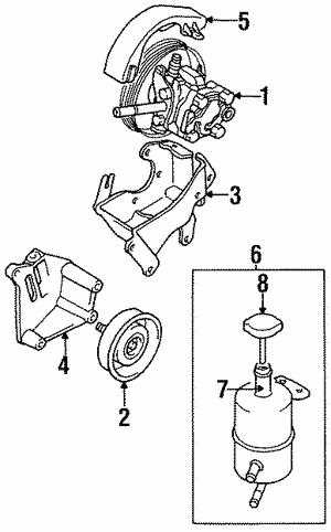 Pump For 2000 Chrysler Sebring