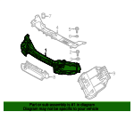 Radiator Support - Volvo (31335263)