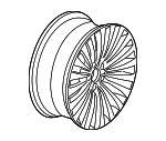 Wheel, Alloy - BMW (36-11-6-797-477)