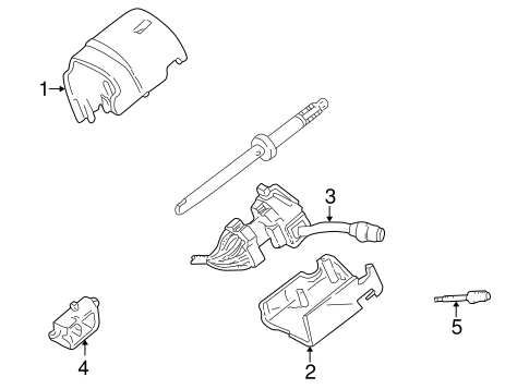 ignition lock for 2002 lincoln blackwood | silver state ... 2002 lincoln ls engine rebuild diagram #8