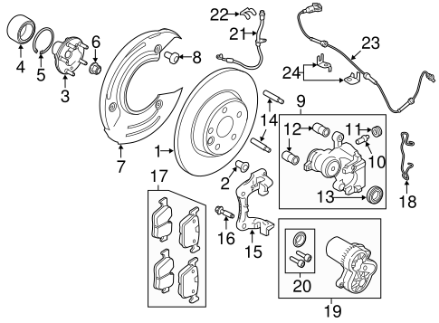 Parking Brake For 2015 Land Rover Discovery Sport