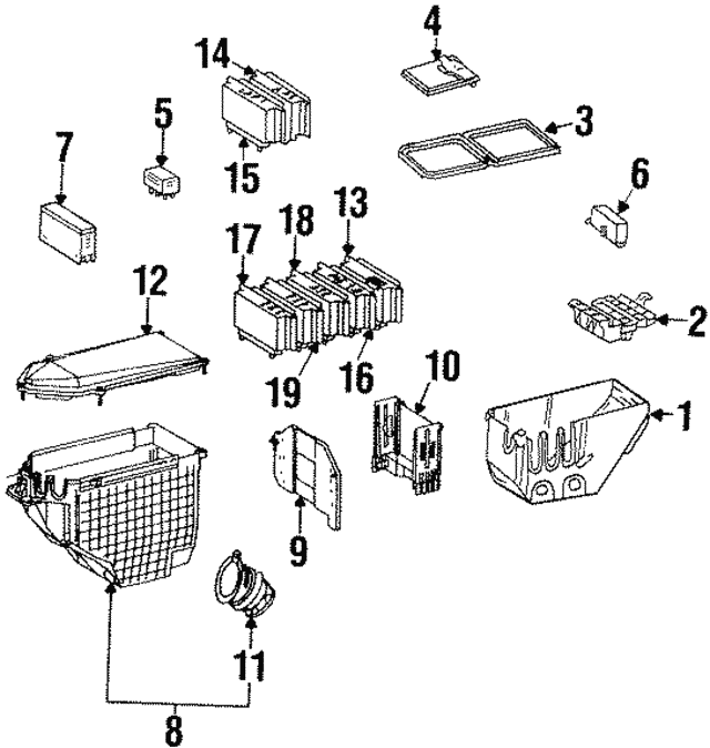 1996 Mercede S420 Fuse Box Diagram