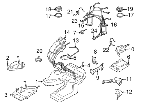 Filters For 2004 Porsche Cayenne