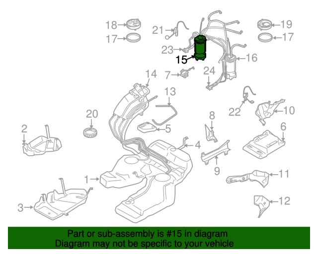 Stupendous Fuel Pump Assembly Porsche 955 620 932 01 Sunset Porsche Parts Wiring 101 Vihapipaaccommodationcom