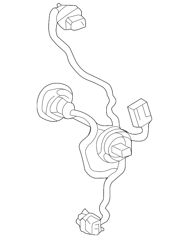 2015 2017 Toyota Prius C Socket Wire 81555 52d00