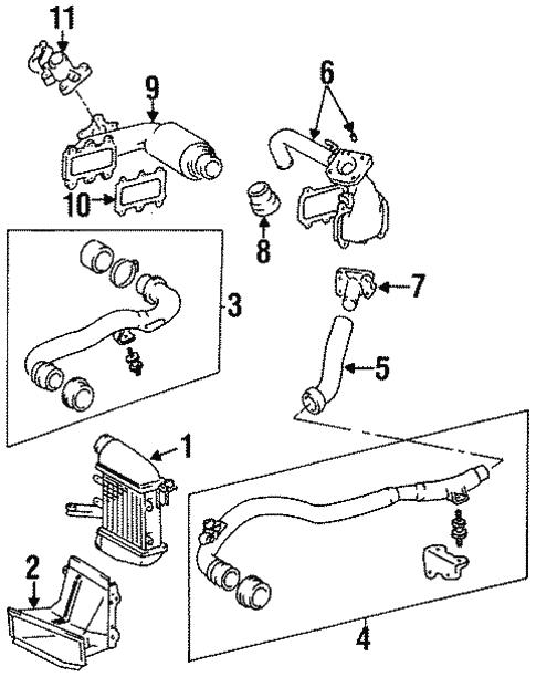 Intercooler For 1996 Toyota Previa