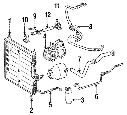 mercedes slk parts diagram diy wiring diagrams